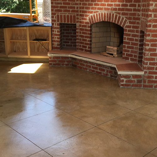 Stained Concrete Contractor Tupelo, MS